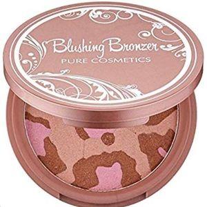Pure cosmetics blushing bronzer NIB